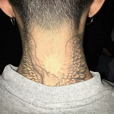 g dragon new tattoo on neck gd tattoo gdragon bigbang g dragon pinterest