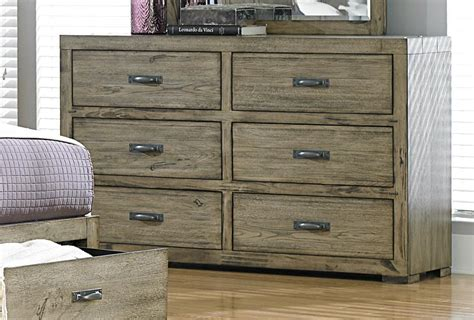 Driftwood Bedroom Furniture by Homelegance Abbott Platform Storage Bedroom Set