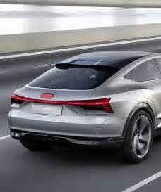 Audi Concept Cars Audi E Sportback Electric Concept Car Unveiled At