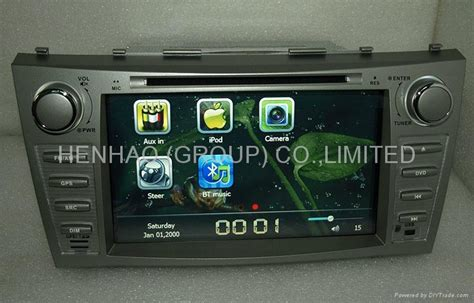format video head unit china kr9954 car dvd head unit gps for toyota camry aurion oem
