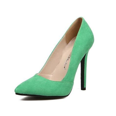 green high heel sandals green suede high heel court shoes