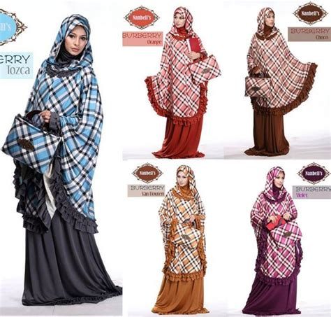 Burbery Set Muslim by Abitistyle Dot Muslim Fashion Mukena Burberry By