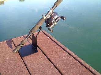 boat cabin rod holders dock rod holder cabin pinterest