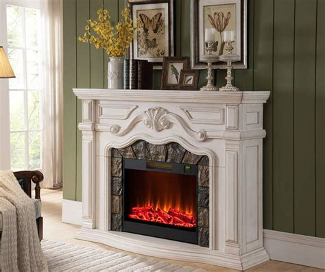 large white electric fireplace 1000 ideas about big lots fireplace on