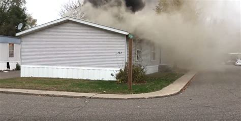 the dog house mn arrival video house fire in minnesota with dog rescues