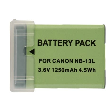 battery pack for l nb 13l li ion nb 13l digital batteries nb13l 13l camera