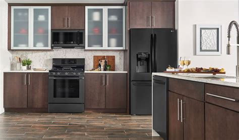 kitchen ideas with black appliances 2018 is black stainless steel right for your kitchen reviewed