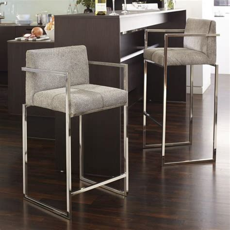 Real Cowhide Bar Stools by Hair On Hide Gray Bar Stool