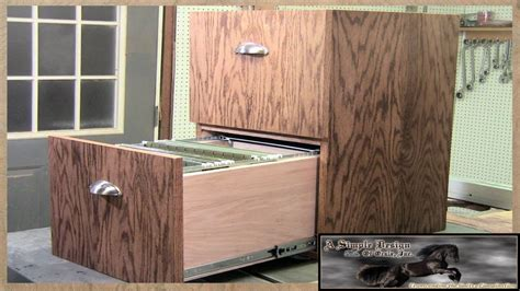 how to build a file cabinet diy wood file cabinet plans cabinets matttroy