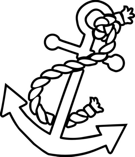 anchor coloring page free color pages anchors anchor coloring picture