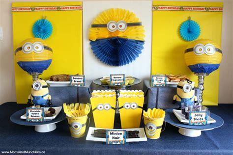 день рождения в стиле миньонов http www babyroomblog ru