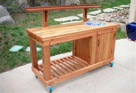 diy bar bench 20 easy and fun diy garden furniture ideas the art in life