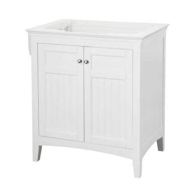 pegasus carabelle 30 in vanity cabinet only in white