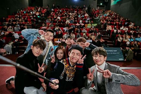 dramanice hwarang cast of quot hwarang quot to support v by attending an upcoming