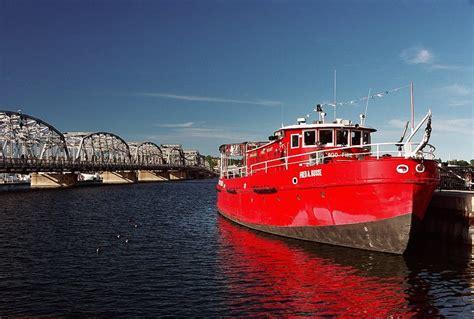 fireboat ride sturgeon bay about