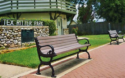 victor stanley park benches tex ritter park nederland victor stanley site