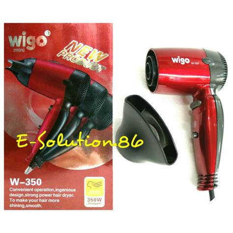 Hair Dryer Wigo Mini jual hairdryer mini wigo w 350 pengering rambut hair dryer