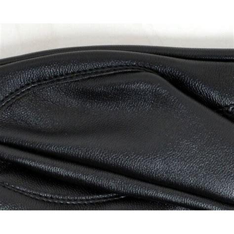 Sarung Tangan Kulit Racing Velcro sarung tangan motor untuk wanita berbahan kulit soft