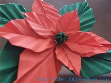 Origami Poinsettia Flower - origami poinsettia flower origami graciela