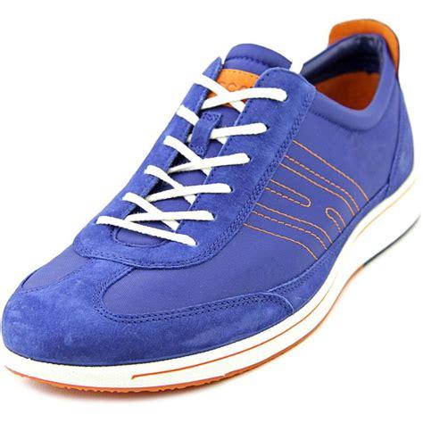ecco sneakers womens ecco ecco jogga womens wide textile blue sneakers shoes