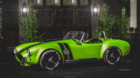 Cobra Auto Tuning by Wallpaper Green Sony Usa Sports Car Tuning Vintage