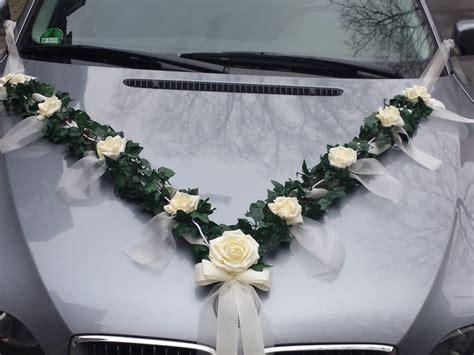Vintage Hochzeitsschmuck by Hochzeitsgirlanden Autoschmuck Hochzeit Auto Girlande