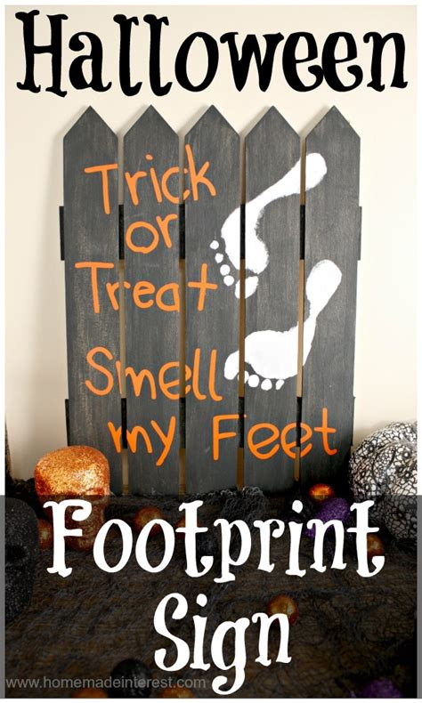 costumes diy crafts ideas signs footprint sign home made interest