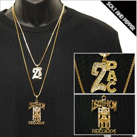 Row Records Chain Replica Solt And Pepper Rakuten Global Market No Brand 2pac