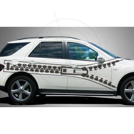 dekor aufkleber f rs auto autoaufkleber reissverschluss zipper teils geoeffnet