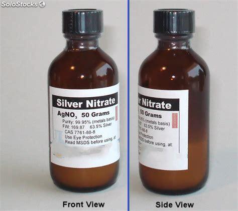 Silver Nitrate Agno3 Merck nitrato d argento