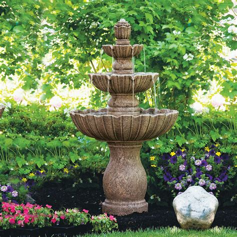 Garden Fountains And Outdoor Decor Mirabella Traditional Outdoor Fountains And Ponds By Frontgate