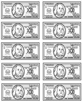 classroom money template classroom economy bucks label your money