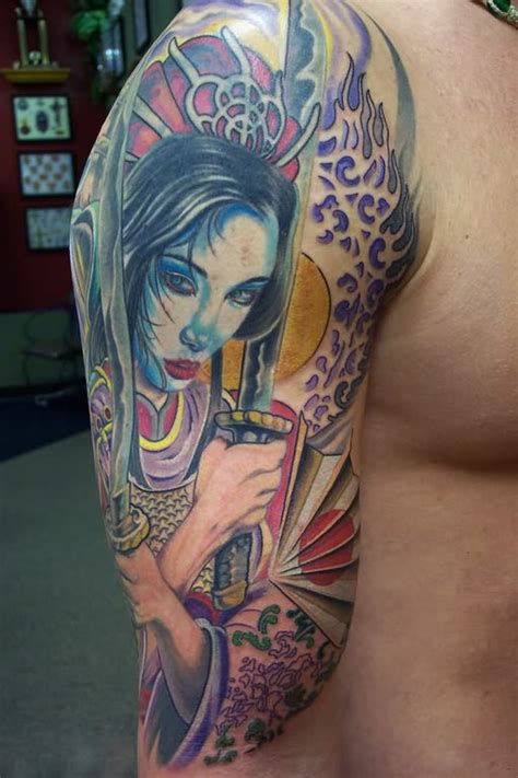 tattoo geisha arm geisha tattoos page 7