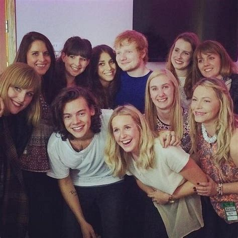 Meet One Direction 1d Condition ed sheeran and one direction s harry styles meet fans at