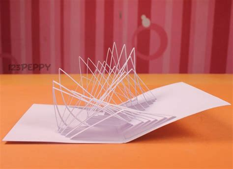 make a popup card crafts project ideas with tutorials 123peppy