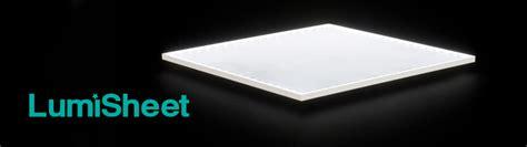 Lu Led Panel Light dlc lumisheet lumisheet led light panel