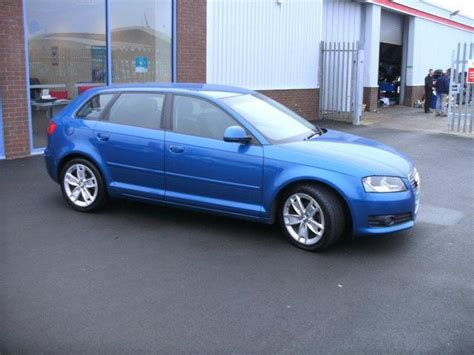 Blue For Sale by Used Audi A3 2008 1 9 Tdi Sport 5dr Blue For Sale In