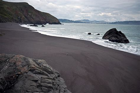 black sand beach california seven of the world s most beautiful colorful sand beaches
