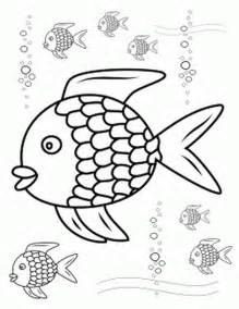 rainbow fish coloring page rainbow fish outline az coloring pages