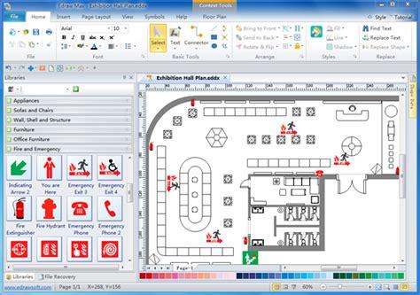 Simple House Plan Software evacuation diagrams free download evacuation diagram software
