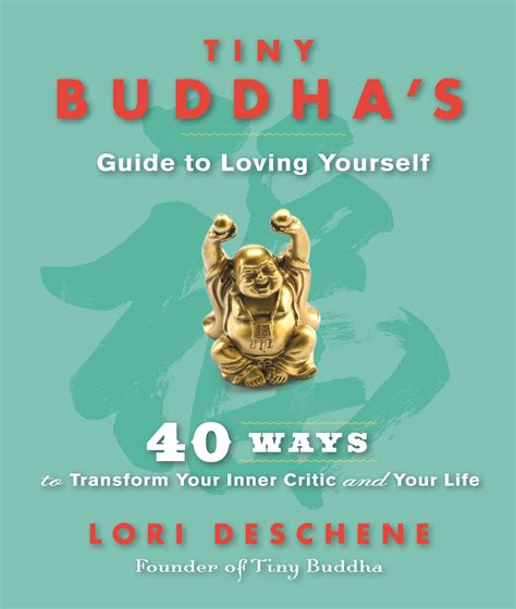 letting go the quote book books book giveaway tiny buddha s guide to loving yourself