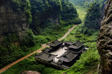 297807 the kast place on earth chongqing wulong karst landscape pictures chongqing