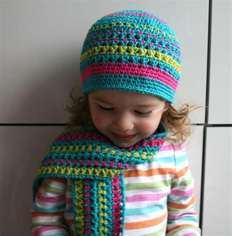 crochet hat scarf pattern crochet club