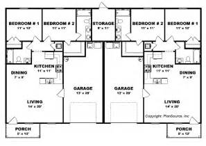 Duplex Floor Plans by Duplex House 2 Bedroom 2 Bath Joy Studio Design Gallery