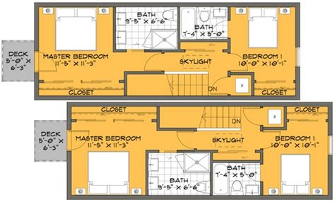 skinny houses floor plans a skinny solution for small house floor plans