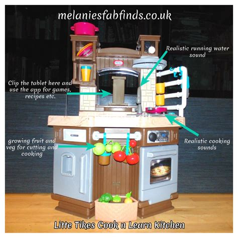 Cook And Learn Kitchen by Tikes Cook N Learn Kitchen Melanie S Fab Finds