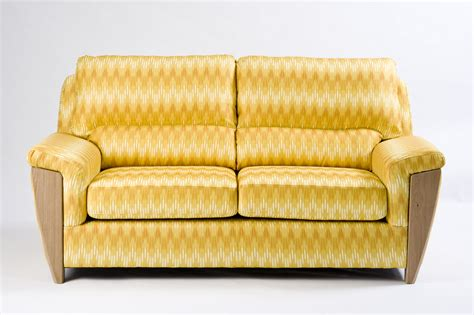 ikat couch ercol riva sofa covered in adras lemon ikat significant