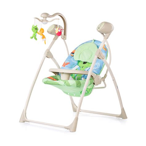 electric baby swings electric baby swing and bouncer chipolino tropicana