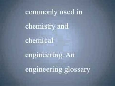 Letter Using Chemical Terms Chemistry Glossary Chemistry Glossary Terms Starting With The Letter A