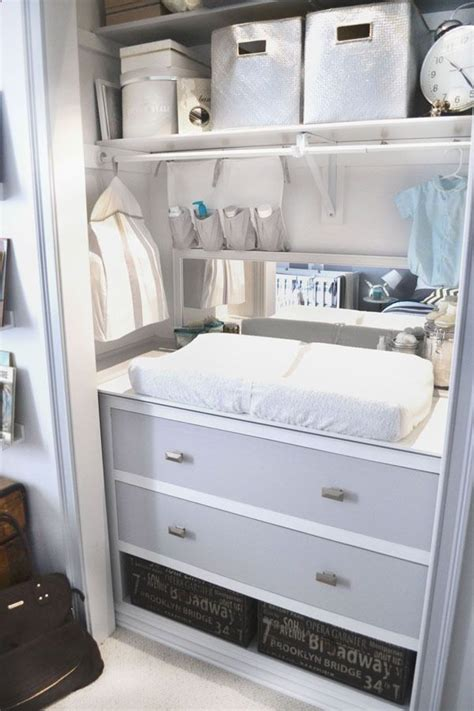 changing table in closet furniture ideas pinterest